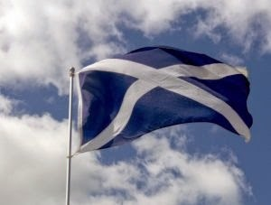The Saltire, flag of Scotland