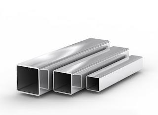 Трубы стальные, квадратного сечения.