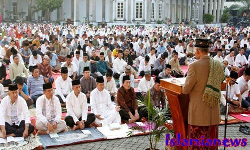 Contoh Teks Khutbah Idul Fitri Hikmah Puasa Singkat Sedih