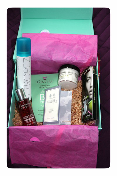Contents of She Said Beauty Box June 2012