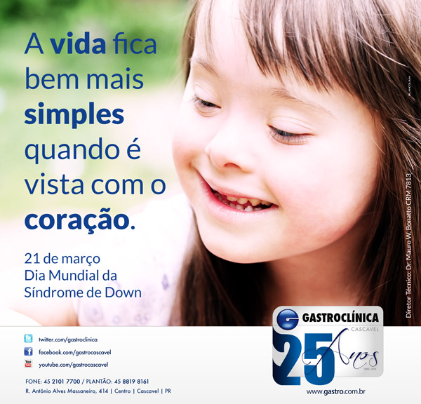 Dia Mundial Da Sindrome De Down