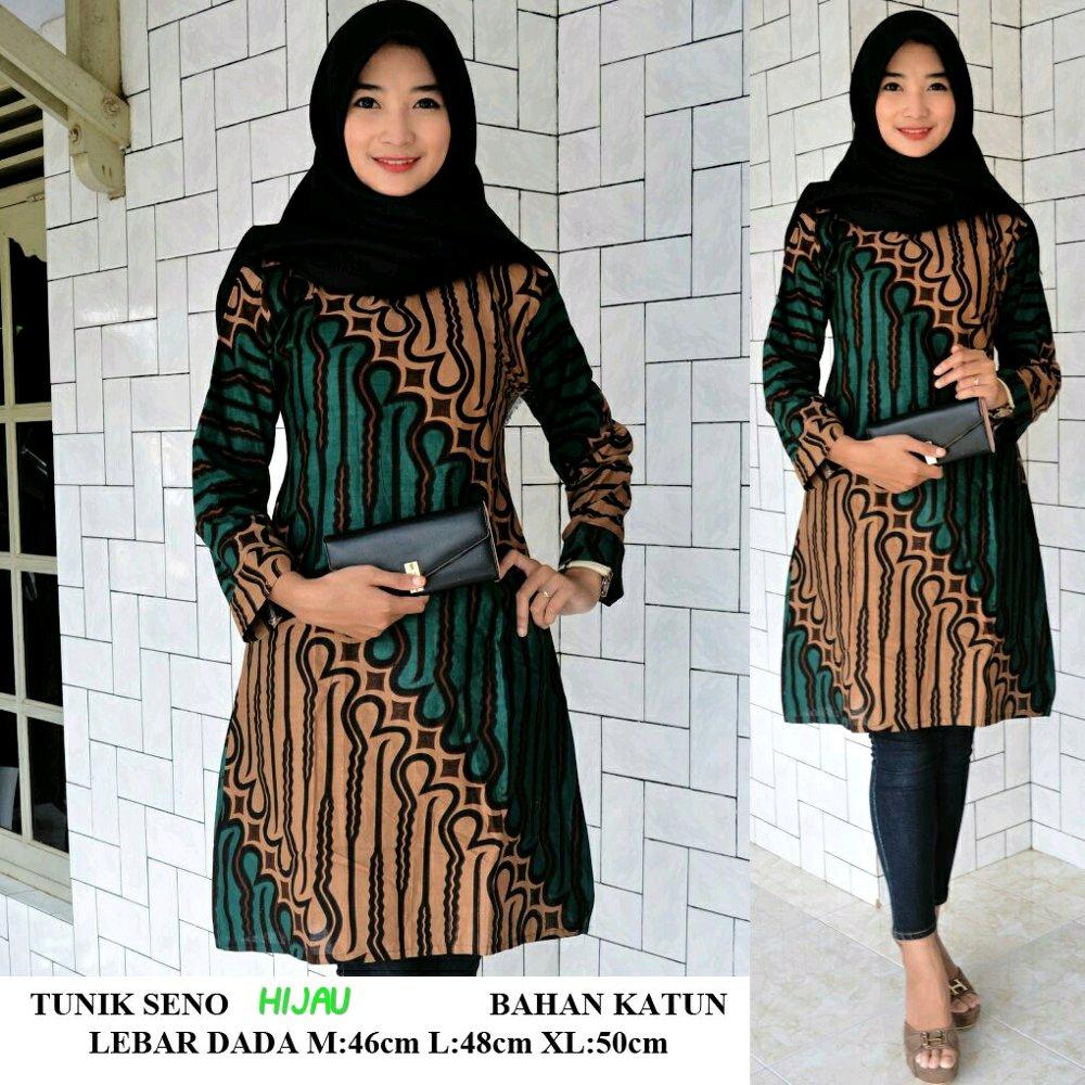 17 Model Baju Batik Kombinasi Atasan dan Bawahan Wanita ...