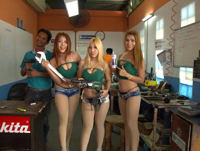 Female Tool Lubrication Models in Repair Shop of Ruangsangthai Buriram