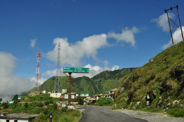 way to mussoorie