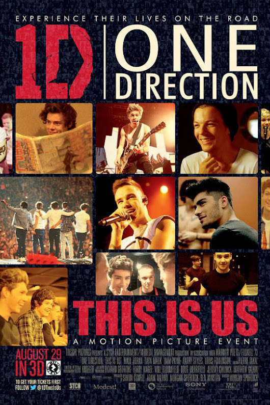 'One Direction: This Is Us': el fenómeno musical llega a la gran pantalla.