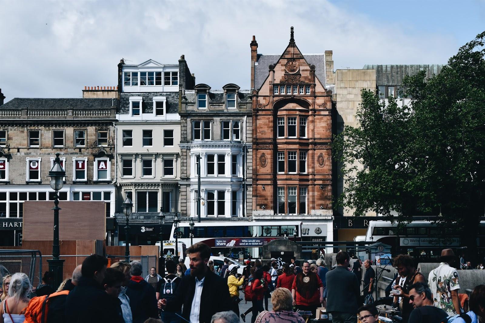 old town, scotland, edinburgh, szkocja, wycieczka, edynburg, costa, stare miasto