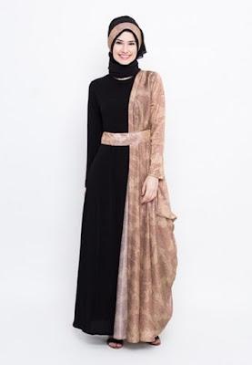 Contoh gamis batik modern