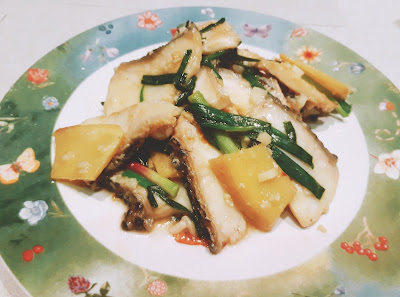 Slice Fish with Ginger 姜葱鱼片