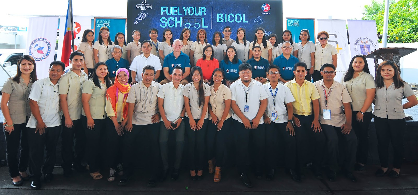 Caltex Fuel Your School in Naga City
