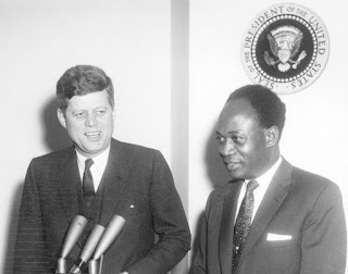 Kwame Nkrumah appealed to President John Kennedy to confirm that the United States would help underwrite the Volta River Project