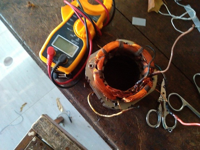 Cara saya merubah kipas bertegangan 110 volt ke 220 volt ...