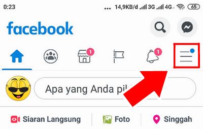 cara mengganti nama facebook lewat hp