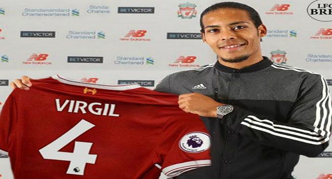 Target Van Dijk Bersama Liverpool