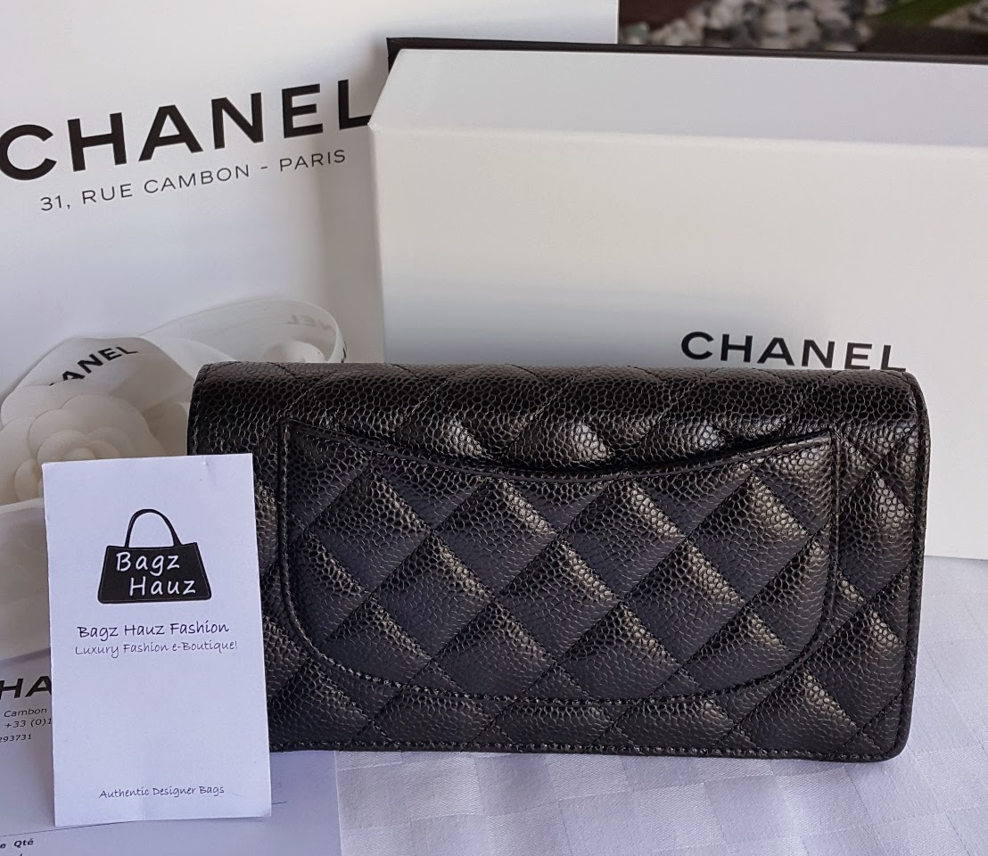 3672949059a2 This CHANEL O-Case in Caviar is super hard to get and we were fortunate to  be able to grab hold of 1pc which our 1st time customer from Down South  snapped ...