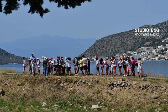 """Αργολίδα: Με μεγάλη συμμετοχή μαθητών συνεχίζονται οι Πράσινες Πολιτιστικές Διαδρομές"""" στην Αρχαία Ασίνη (βίντεο)"""