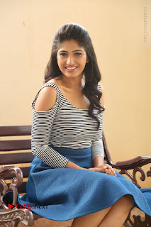 Telugu Actress Roshini Prakash Stills Short Dress at Saptagiri Express Release Press Meet  0166.JPG