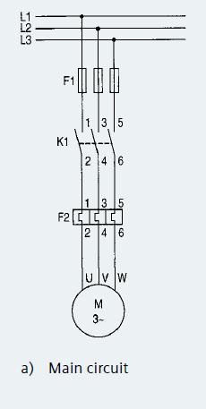 What is direct online starter DOL Starter work Control wiring
