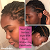 How To Lay Stubborn Edges With Braids Without Any White Residue
