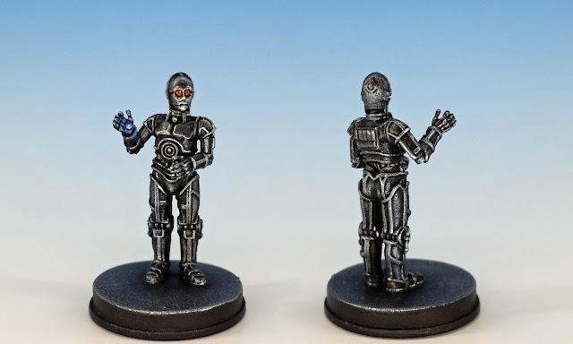 Triple Zero 0-0-0, Imperial Assault (2017), painted miniature