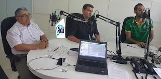 Novo prefeito de Picuí Olivânio Remigio foi entrevistado pela Rede Paraibana de Notícias