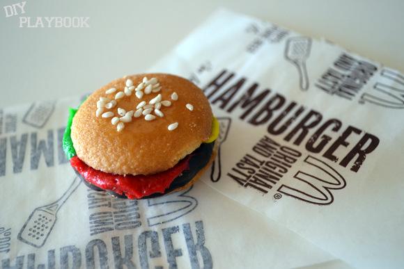 Mini Hamburger Cookie