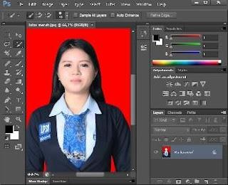cara edit latar belakang foto
