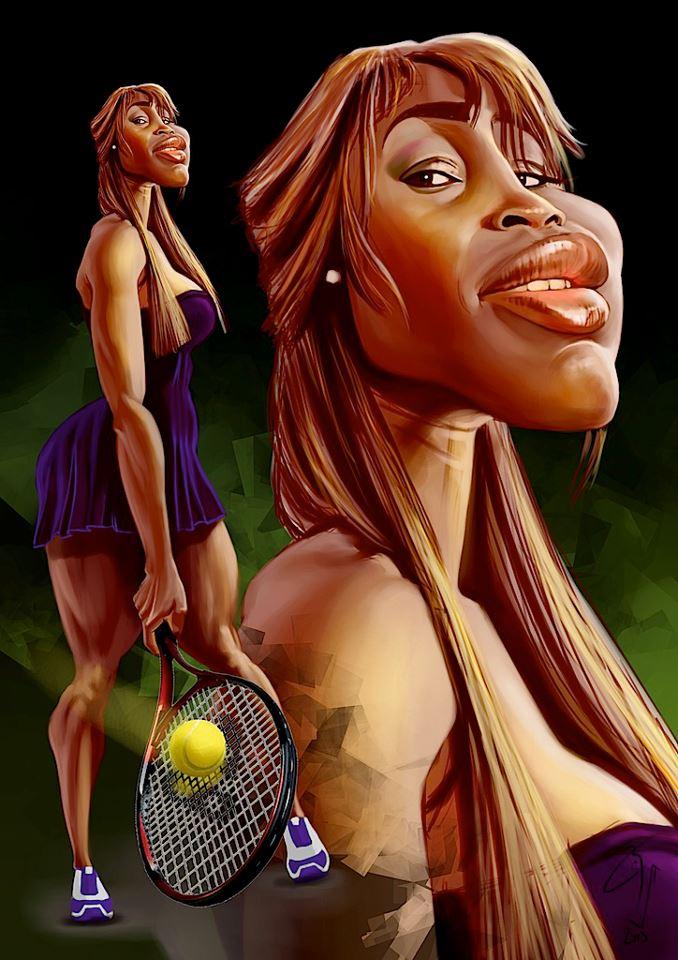 Serena Williams por Bogdan Covaciu