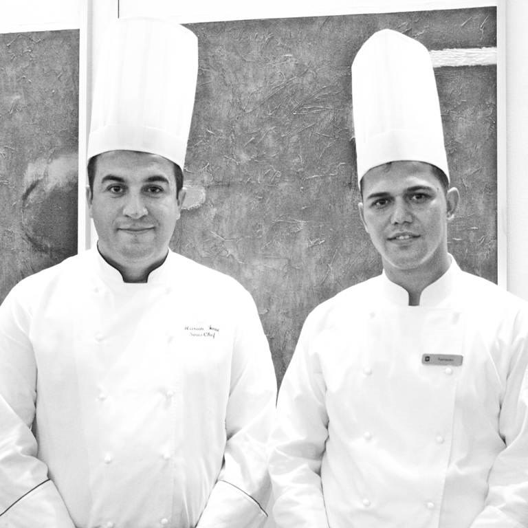 Chef Harun Imre and Chef Ramazan Edrem
