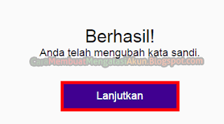 cara ganti password yahoo
