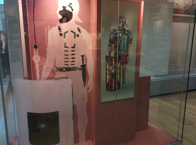 Roman Legionaire Gear at the British Museum