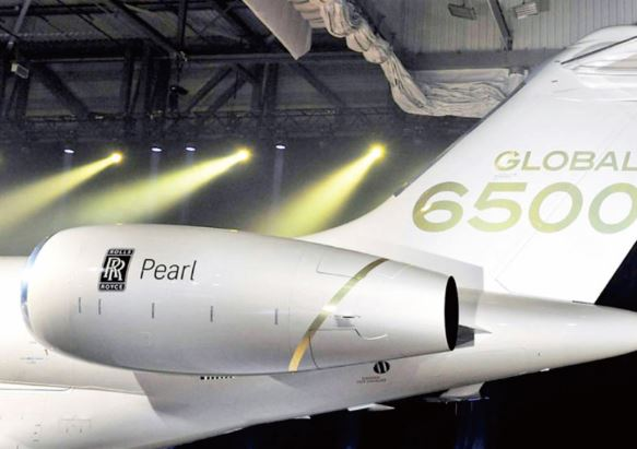 Bombardier Global 6500 specs