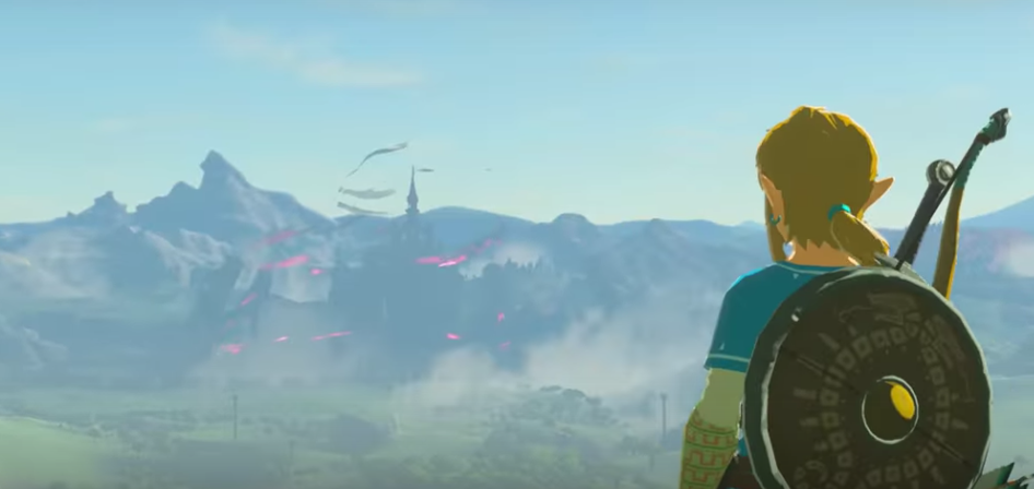 Zelda: Breath of the Wild se planteó incluir armas durante la escalada