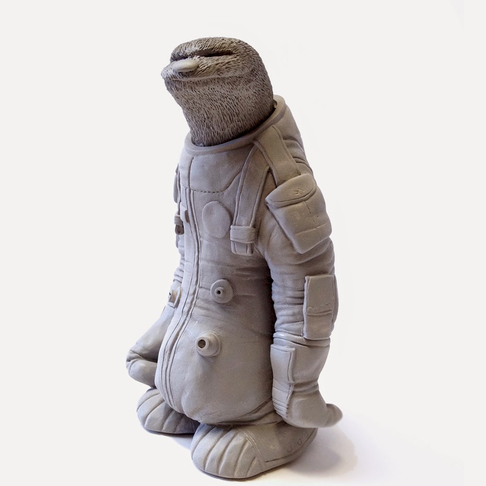 Dave Pressler Making Stuff: ASTRO SLOTH LIMITED EDITON RESIN FIGURES!