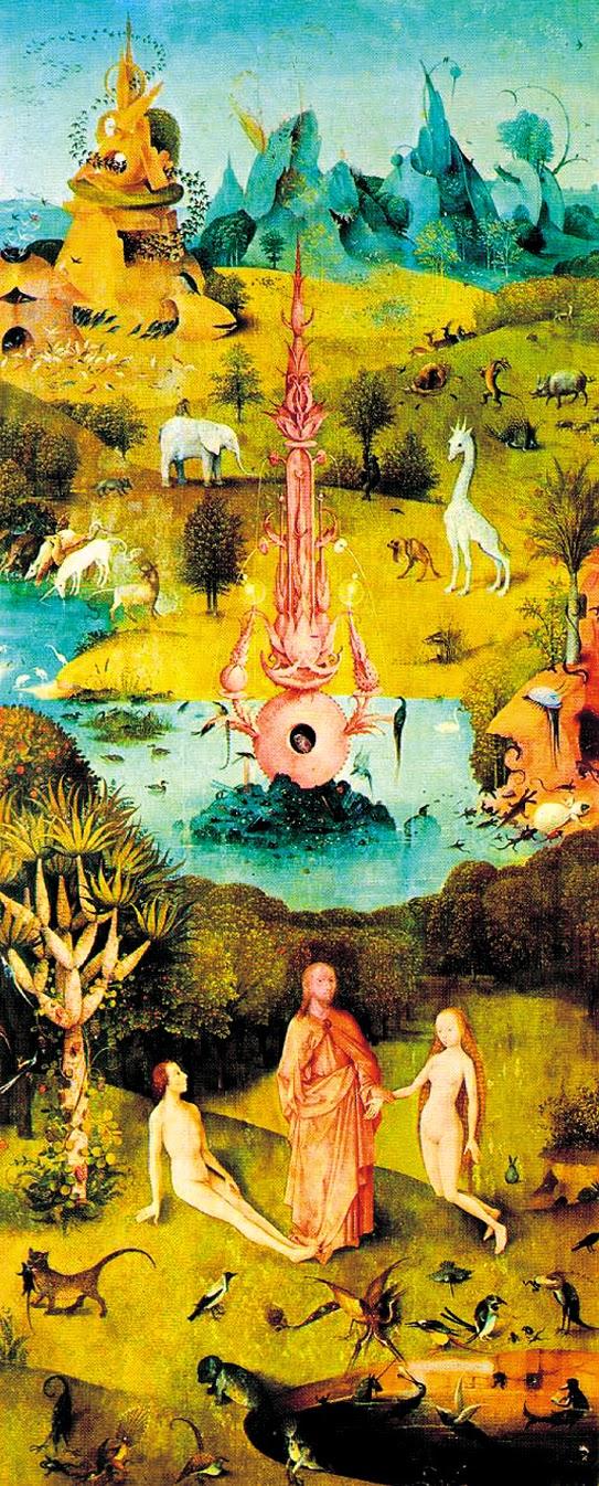 Paradiso del trittico delle delizie