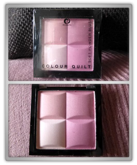 Miners Cosmetics - Color quilt blusher