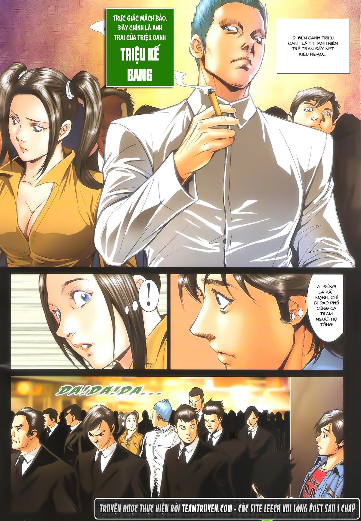 Người Trong Giang Hồ chapter 1604: hồng hưng vs trường lạc trang 27