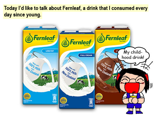 Fernleaf, made with 100% milk from New Zealand