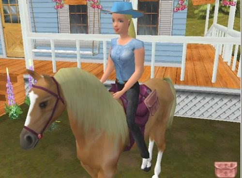 barbie horse riding games free download