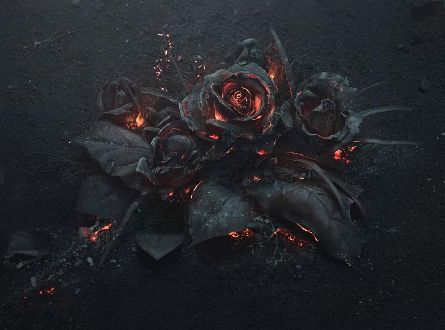 burning-roses-sculpure-the-ash-peter-jaworowski-1