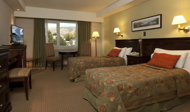 Quarto do Hotel Quijote em El Calafate