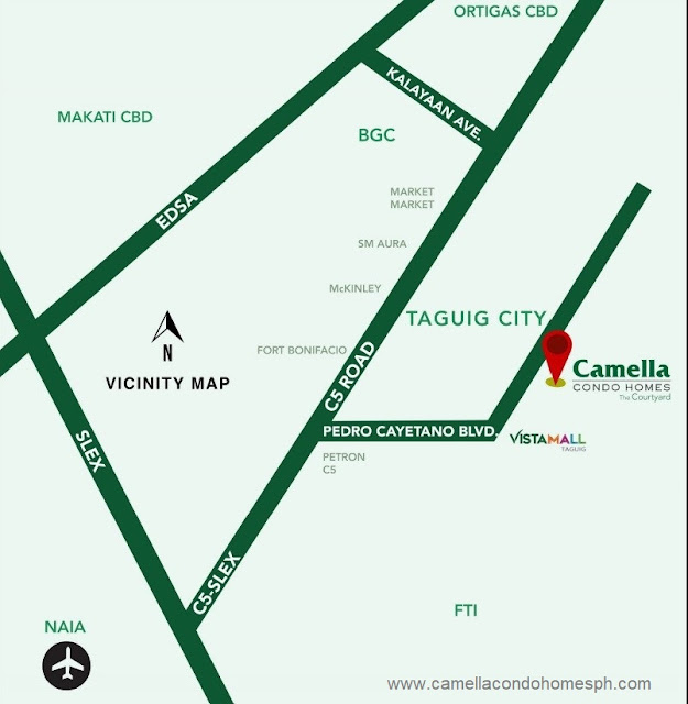 The Courtyard Taguig by Camella Condo Homes