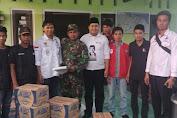 Reliji dan Komando serahkan bantuan korban Gempa Lotim