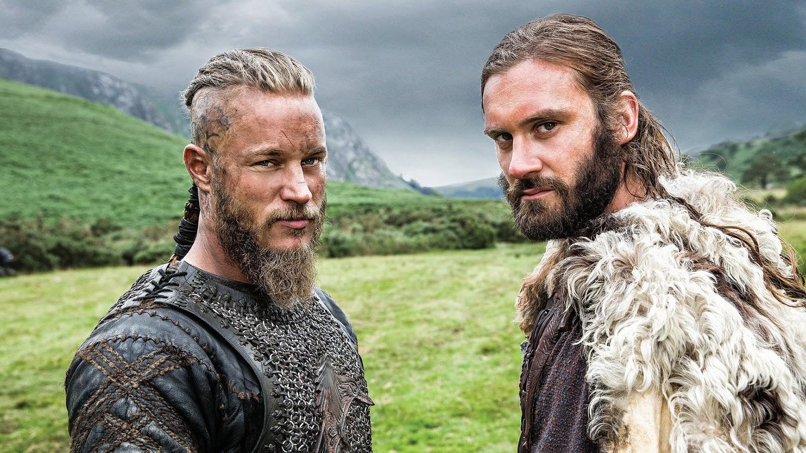 Ragnar y Rollo en 'Vikings'