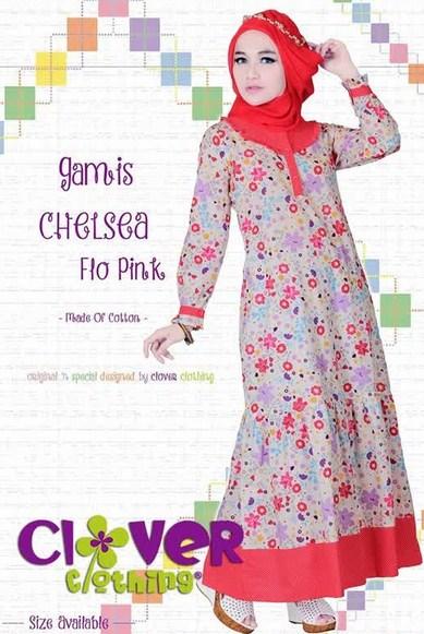 25 Model Baju Muslim Lebaran Anak Muda Terbaru 2017