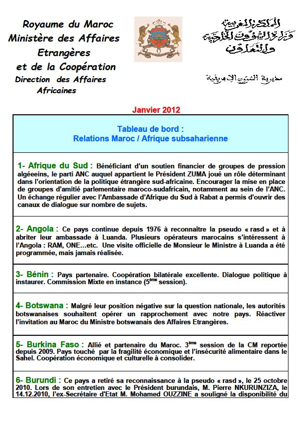 Marruecos decidió volver a la Unión Africana en 2012