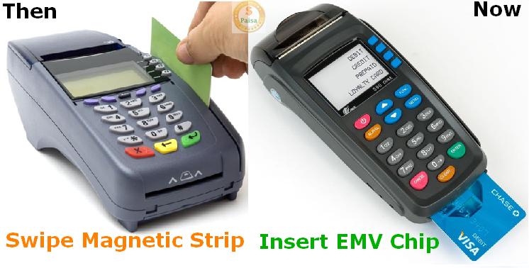 नया EMV चिप कार्ड पुराने मैग्नेटिक टेप कार्ड से ज़्यादा सुरक्षित