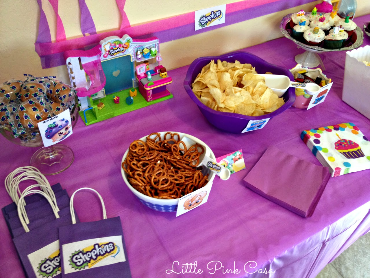 Birthday Birthday Party Ideas: Hadara's Shopkins Birthday Party On A Budget!