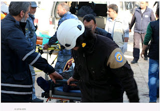 the so-called White Helmets