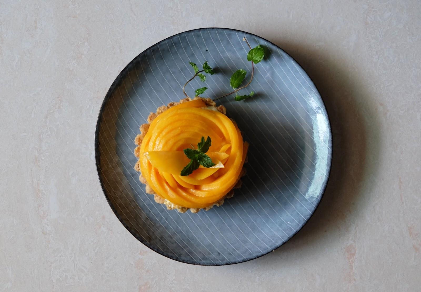 自家廚房|盛夏的果實,遲來的芒果塔(附食譜)
