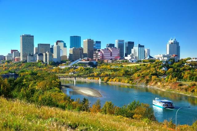 Verão em Edmonton